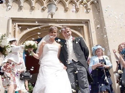 Wedding at Windsor parish Church